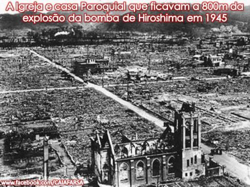 Casa Paroquial em Hiroshima 1945