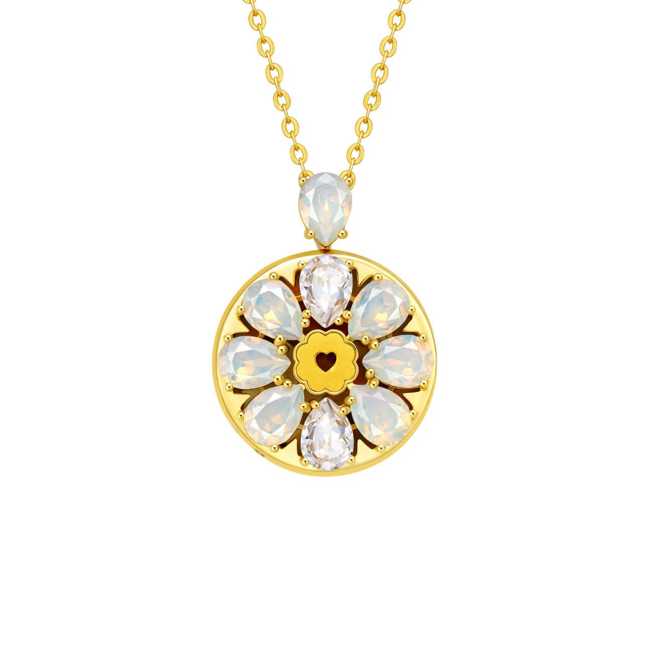Love Bloom Swarovski Crystal Pendant