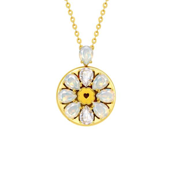 Love Bloom Swarovski Crystal Pendant