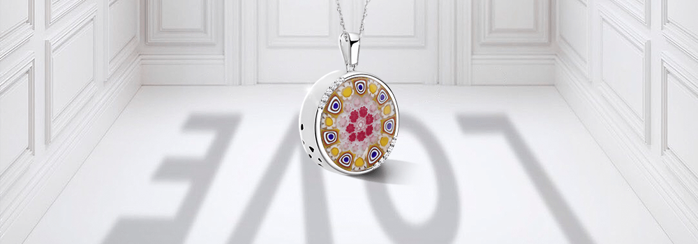 Totwoo murano necklace