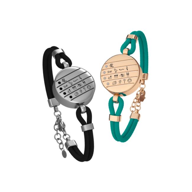 totwoo love letter couple bracelets