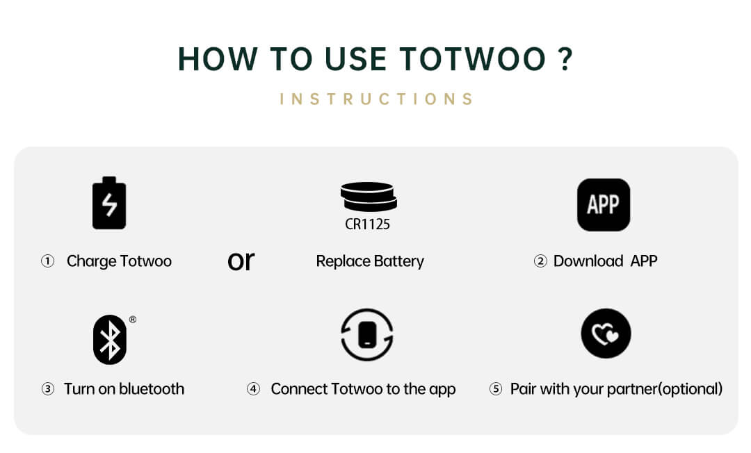 how to use Totwoo