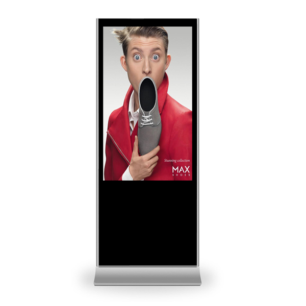 "Vertical Touchscreen indoor 65"" (Frontansicht)"