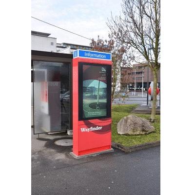 Outdoor touch screen kiosk