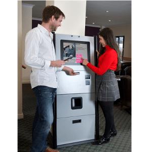 Indoor touch screen kiosks Wristband kiosk Wristband kiosk Touch screen kiosks
