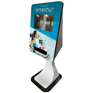 Indoor touch screen kiosks