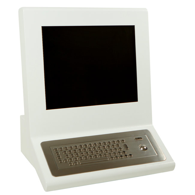 Touch Screen Kiosks Desk Mounted and Touch Screen