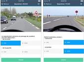 Comment réviser le code sur la route sur l'iPhone?