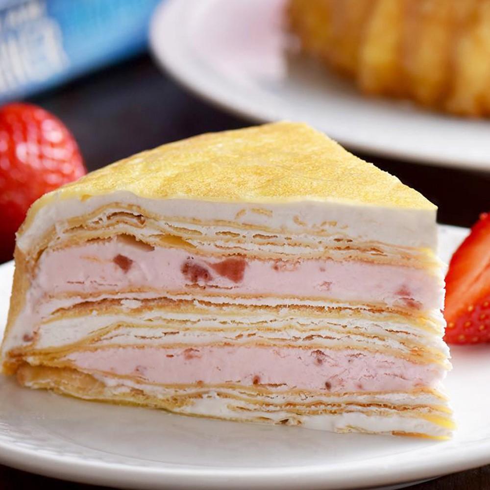 【塔吉特】草莓甜心千層(8吋) - 千層蛋糕
