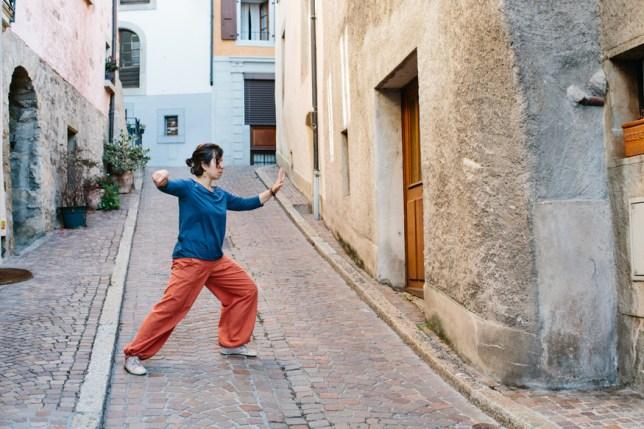 Cours de tai chi dans le Lavaux, Cully. lenteur, relaxation et méditation