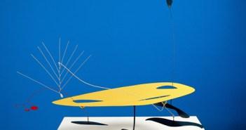 Alexander Calder, Móbile Amarelo, Preto, Vermelho e Branco, s.d.; Metal pintado; Doação MAMSP