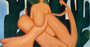 """""""Antropofagia"""", óleo sobre tela de 1929 de Tarsila do Amaral"""