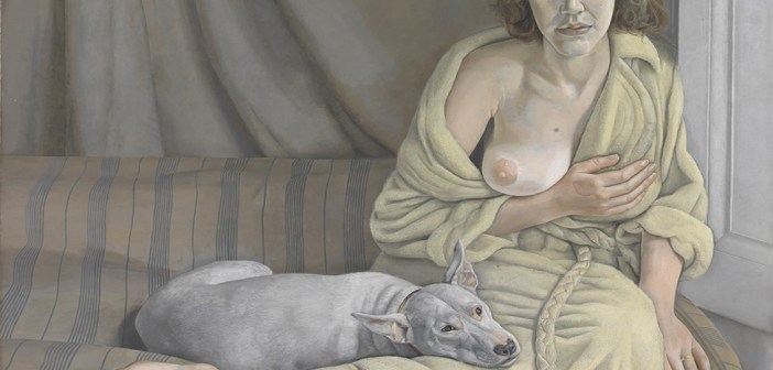 Girl with a White Dog, 1950–51, Lucian Freud