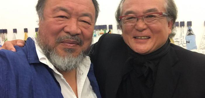 Ai Weiwei e Ricard Akagawa