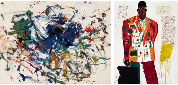 Pinturas raras de Jean-Michel Basquiat e Joan Mitchell serão oferecidas na Christie's