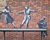 """Vídeo: Banksy e sua """"Great British Spraycation"""""""