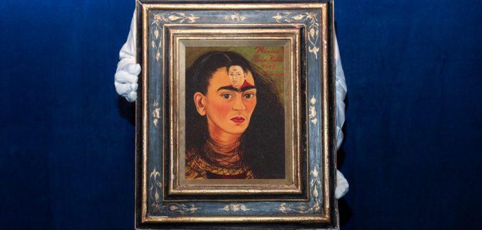 Autorretrato de Frida Kahlo vai a leilão e pode quebrar recordes
