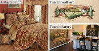 Tuscan Italian Style Home Decorating and Tuscan Decorating ...