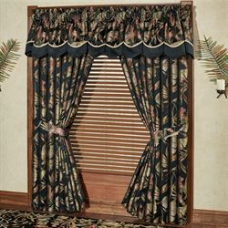 wide window curtains french and patio