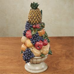 fruit decor for kitchen nook ideas decorative accents touch of class urn centerpiece