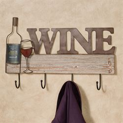 kitchen wall art decor old cabinets for sale and dining room touch of class wine hook rack