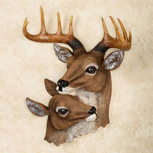 3d Touch Wallpaper House Decor Deer Head Wall Art