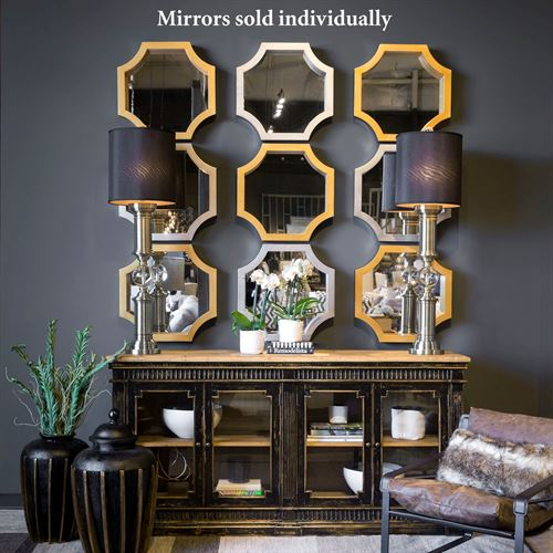 accent mirrors living room creative wall painting ideas for mattingly octagonal mirror
