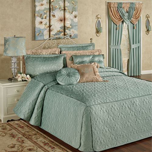 Cambridge Classics Aqua Mist Fitted Quilted Oversized