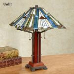 El Camino Southwest Stained Glass Table Lamp