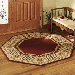 Burgundy Kitchen Rugs Cleaning Cabinets Greek Key Area