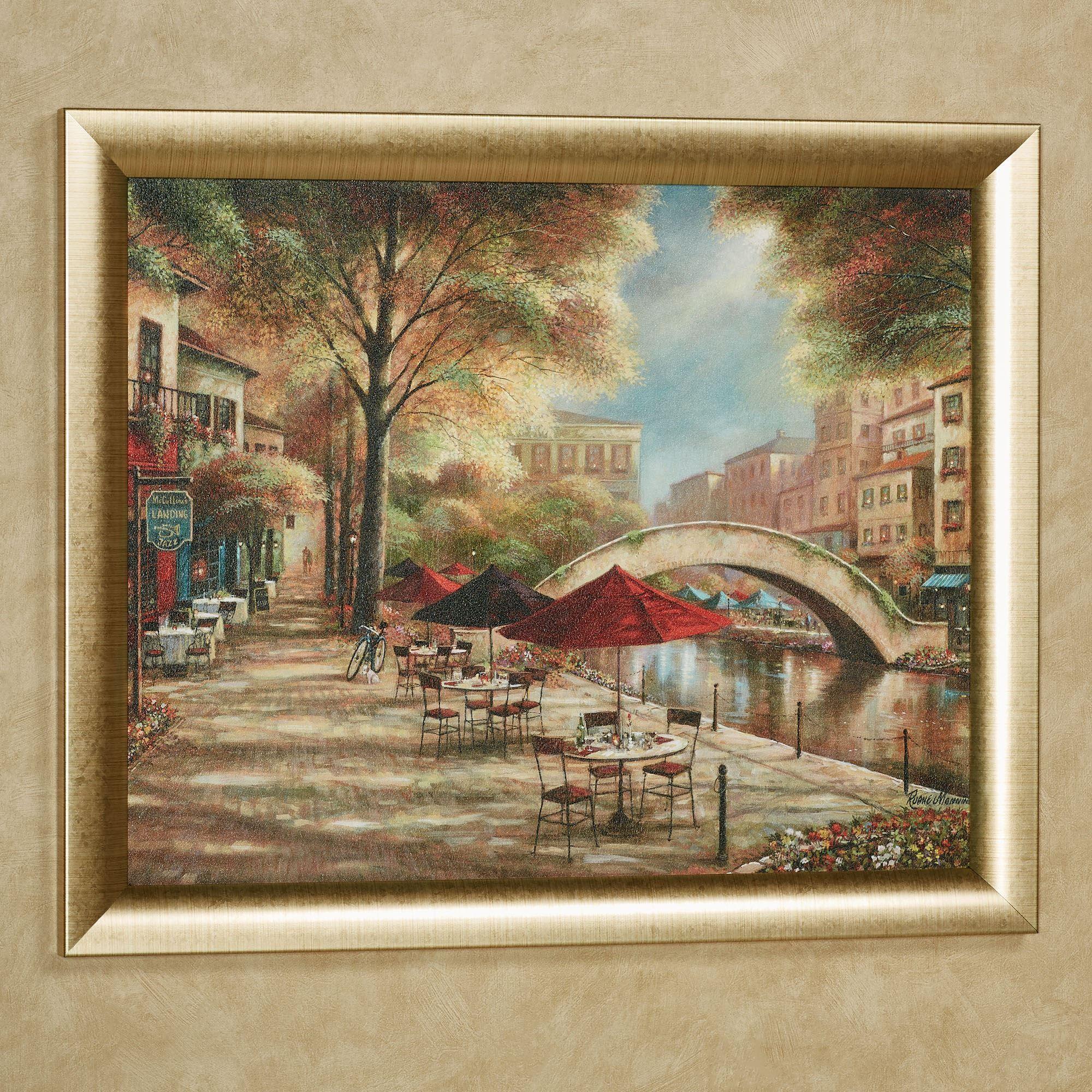 Riverwalk Charm Framed Wall Art Picture