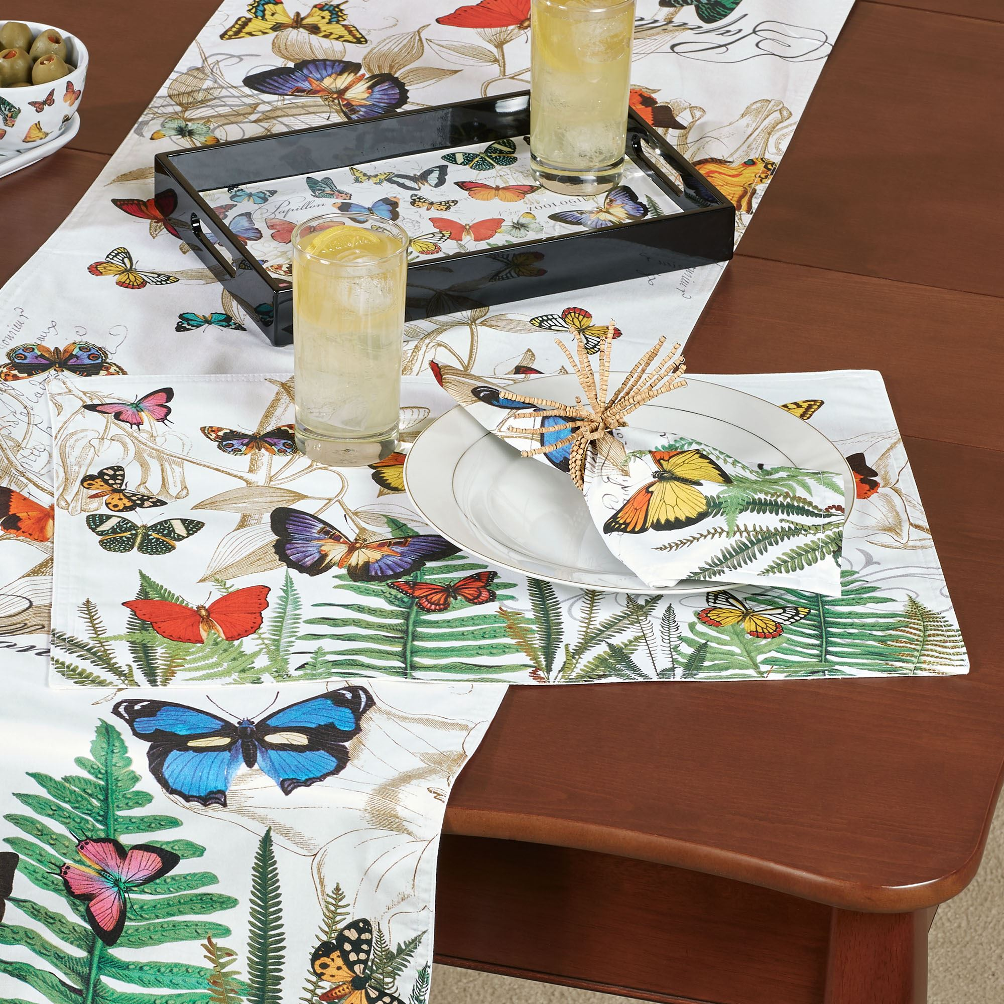 Papillon Butterfly Table Linens