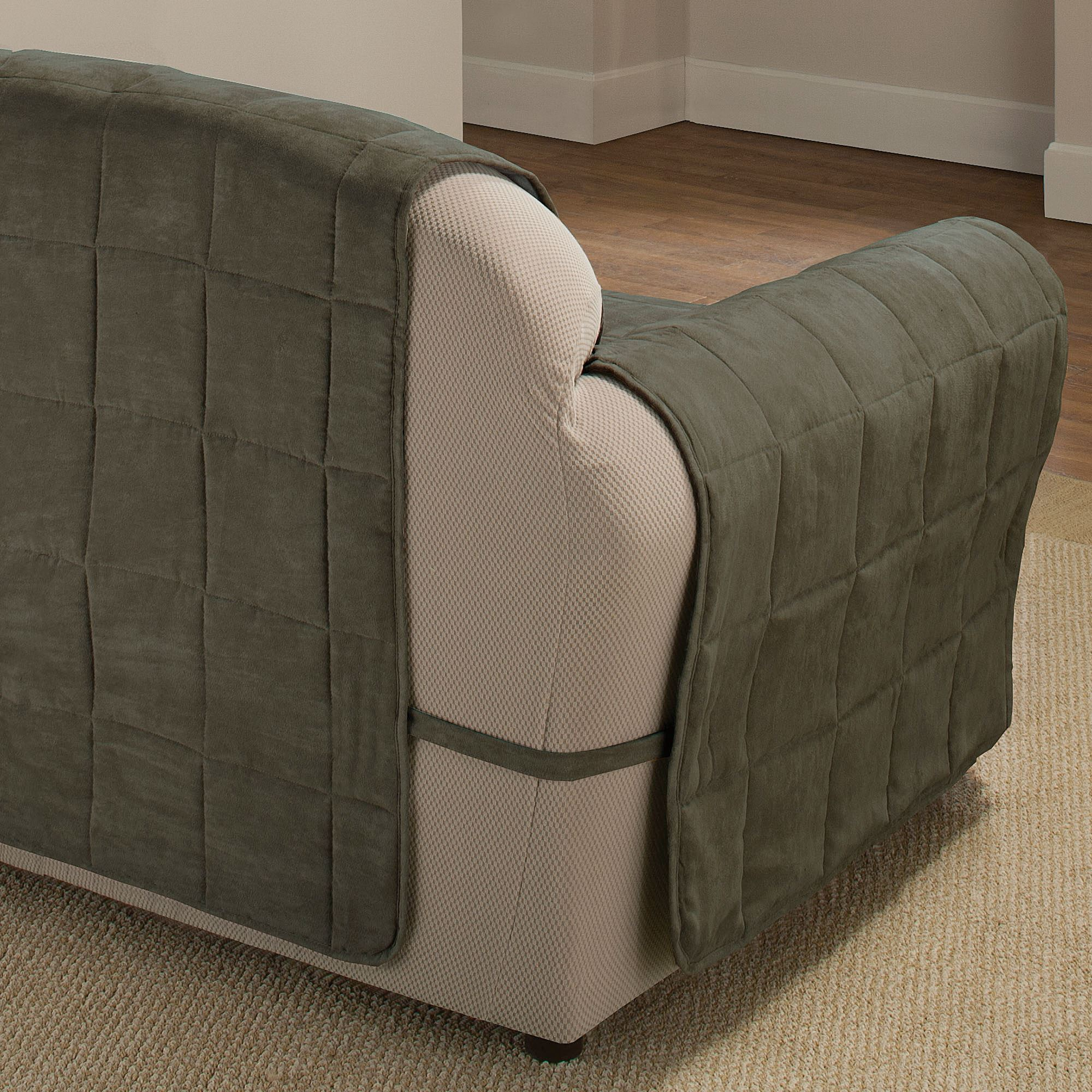 washing faux suede sofa covers journey motion reviews ultimate pet furniture protectors with straps