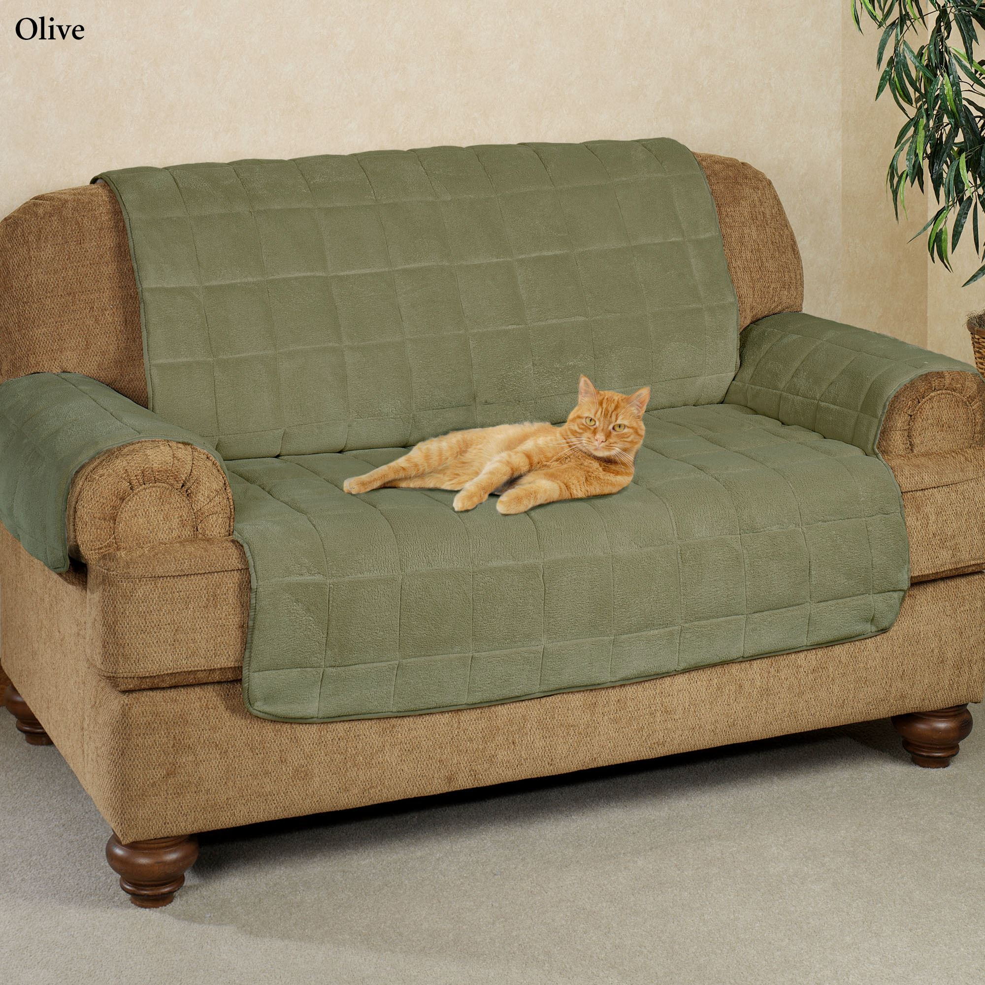 long sofa pet cover home theater philippines microplush furniture covers with longer back flap
