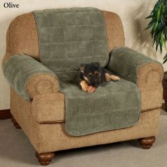 Chair Covers Sofa Office Armrest Slipcovers Microplush Pet Furniture With Longer Back Flap Cover