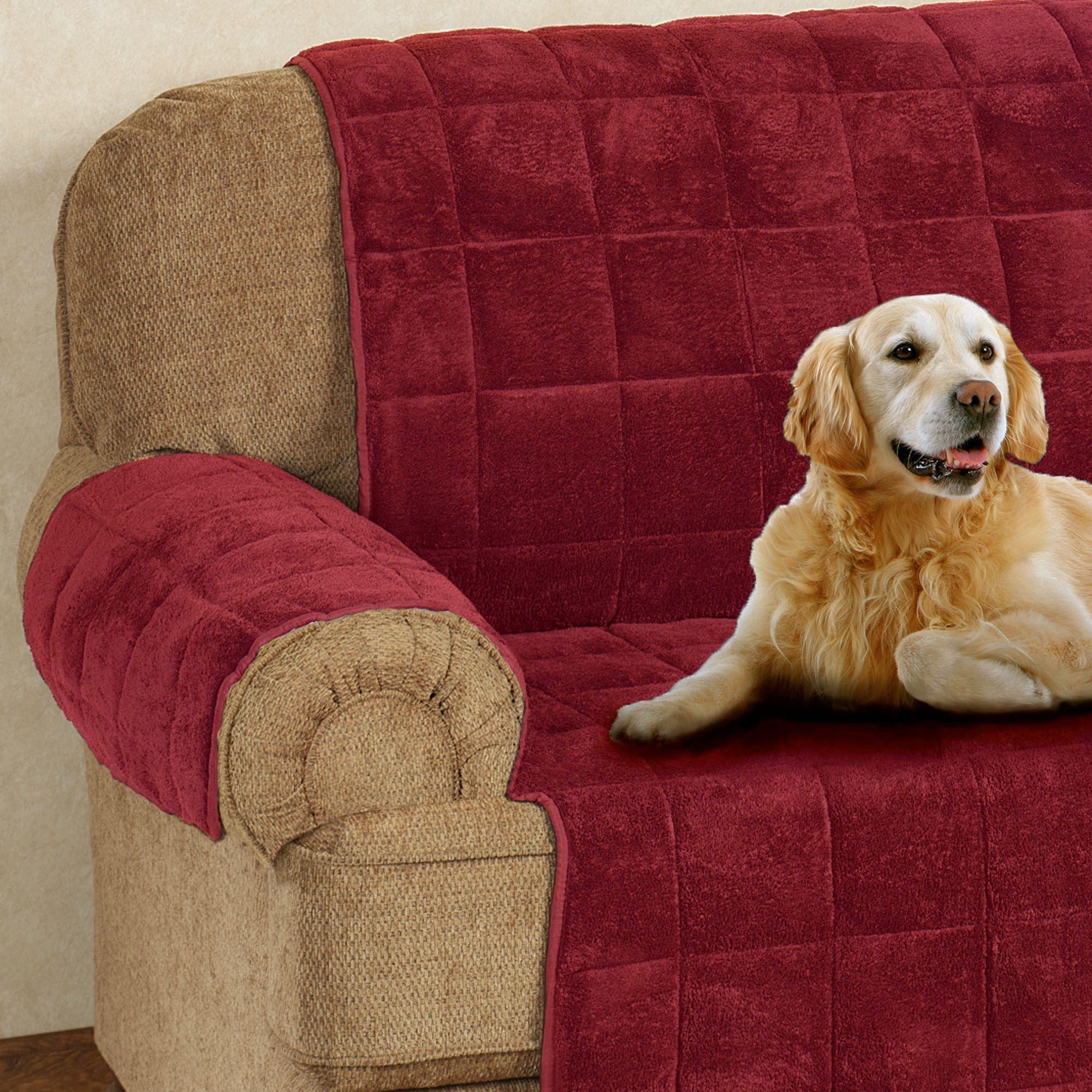 long sofa pet cover funda de ekeskog microplush furniture covers with longer back flap