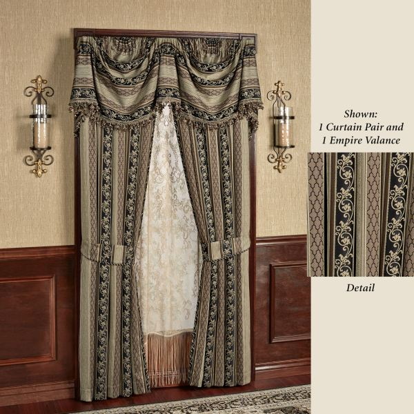Fontainebleau Empire Valance Window Treatment
