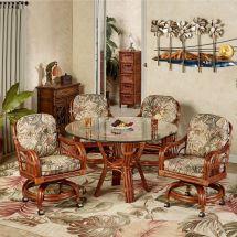 Tropical Dining Room Furniture Set