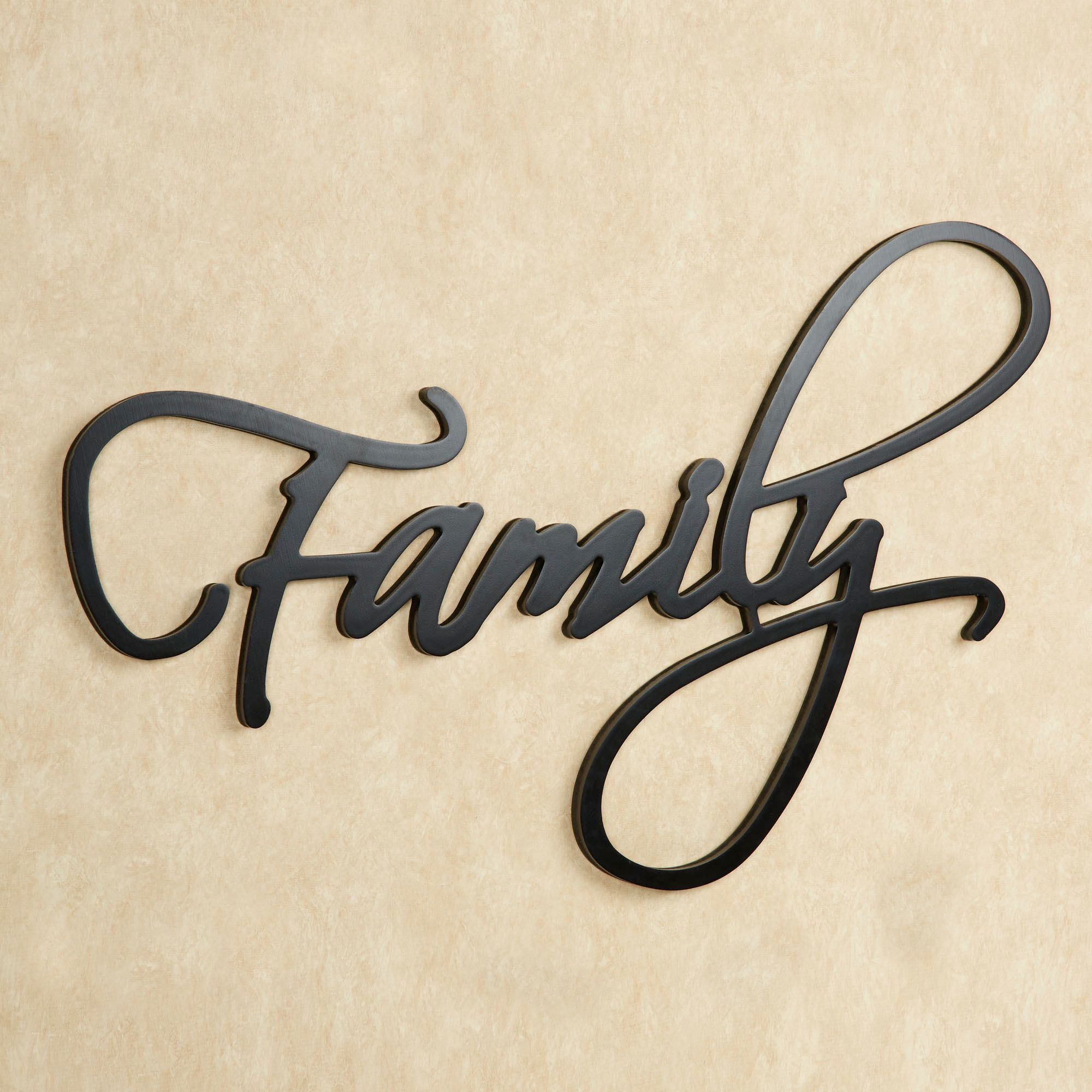 family word wall art