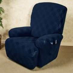 Gray Chair Slipcover Outdoor Patio Glider Chairs Double Diamond Stretch Wing Slipcovers Recliner