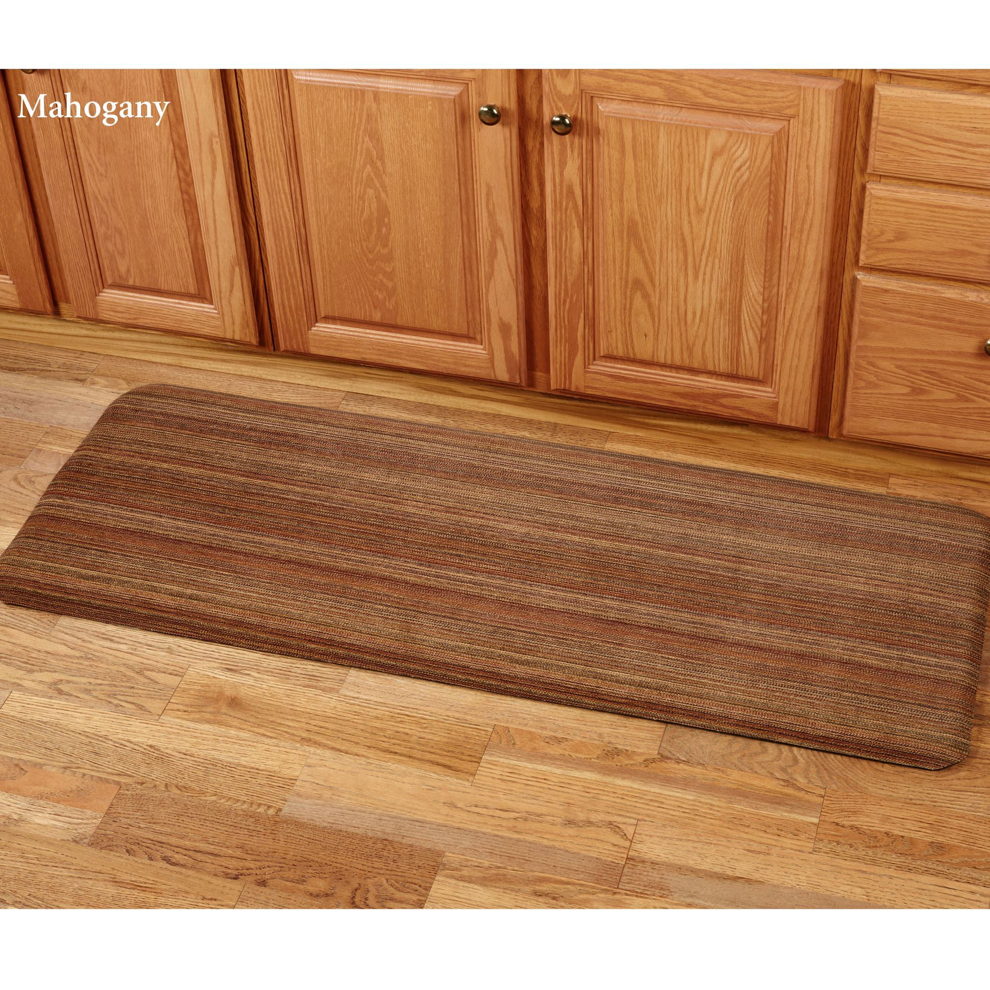 Heavenly Stripe Microfibres Foam Comfort Runner Mat
