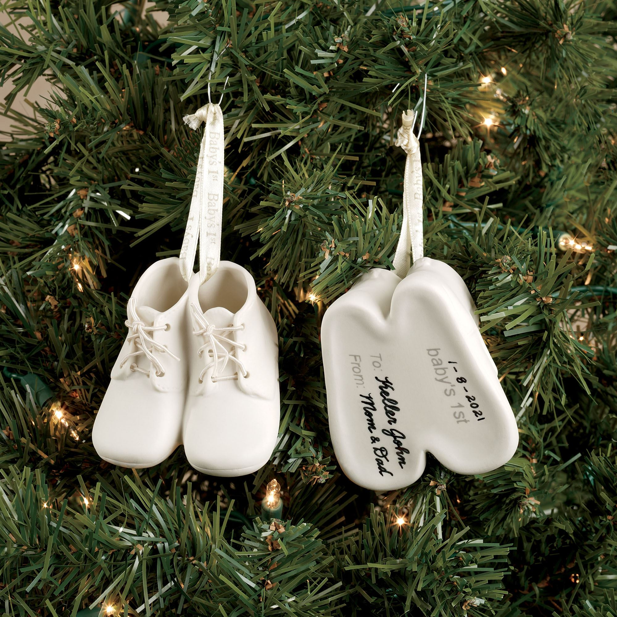 Baby First Christmas 2013 Ornament