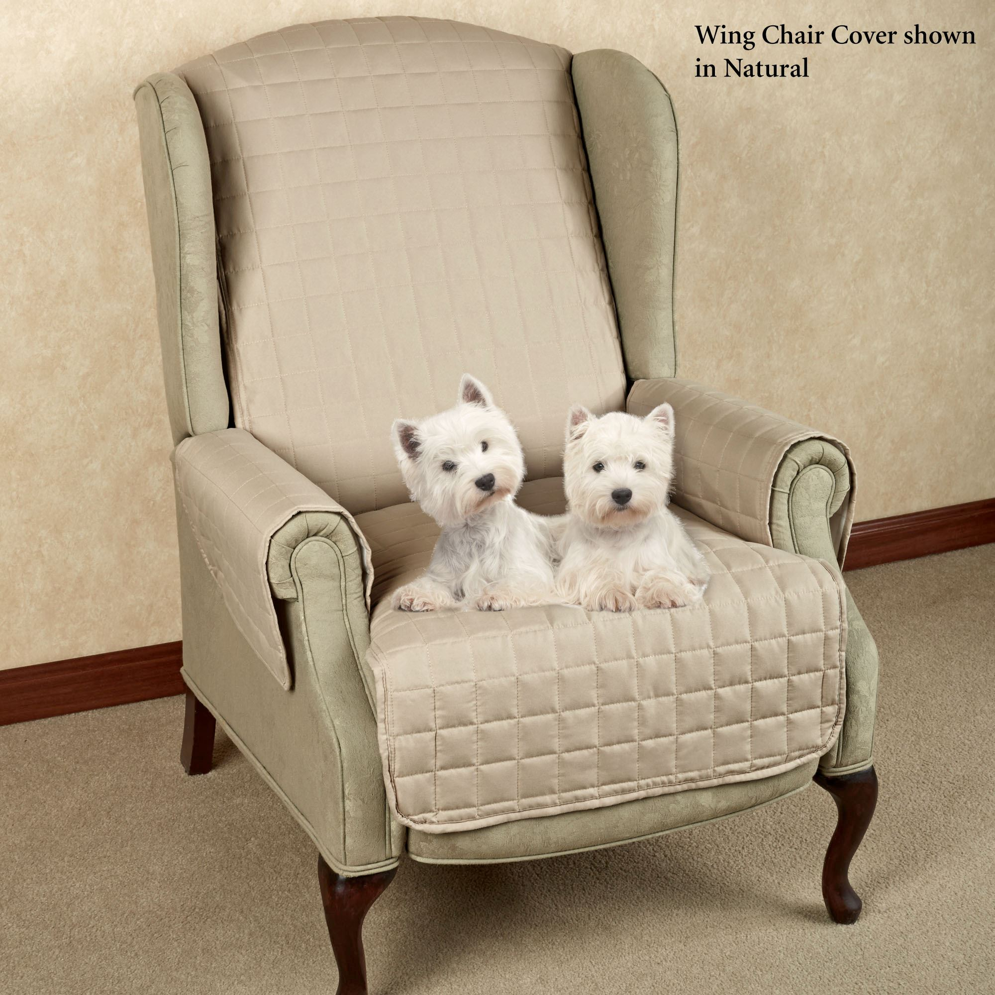 microfiber recliner chair covers the gym pet furniture with tuck in flaps