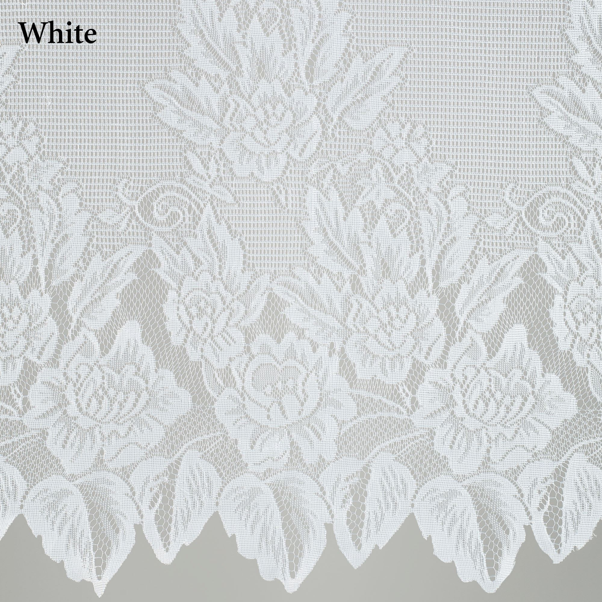 Easy Style Hallie Magnolia Lace Curtain Panel with