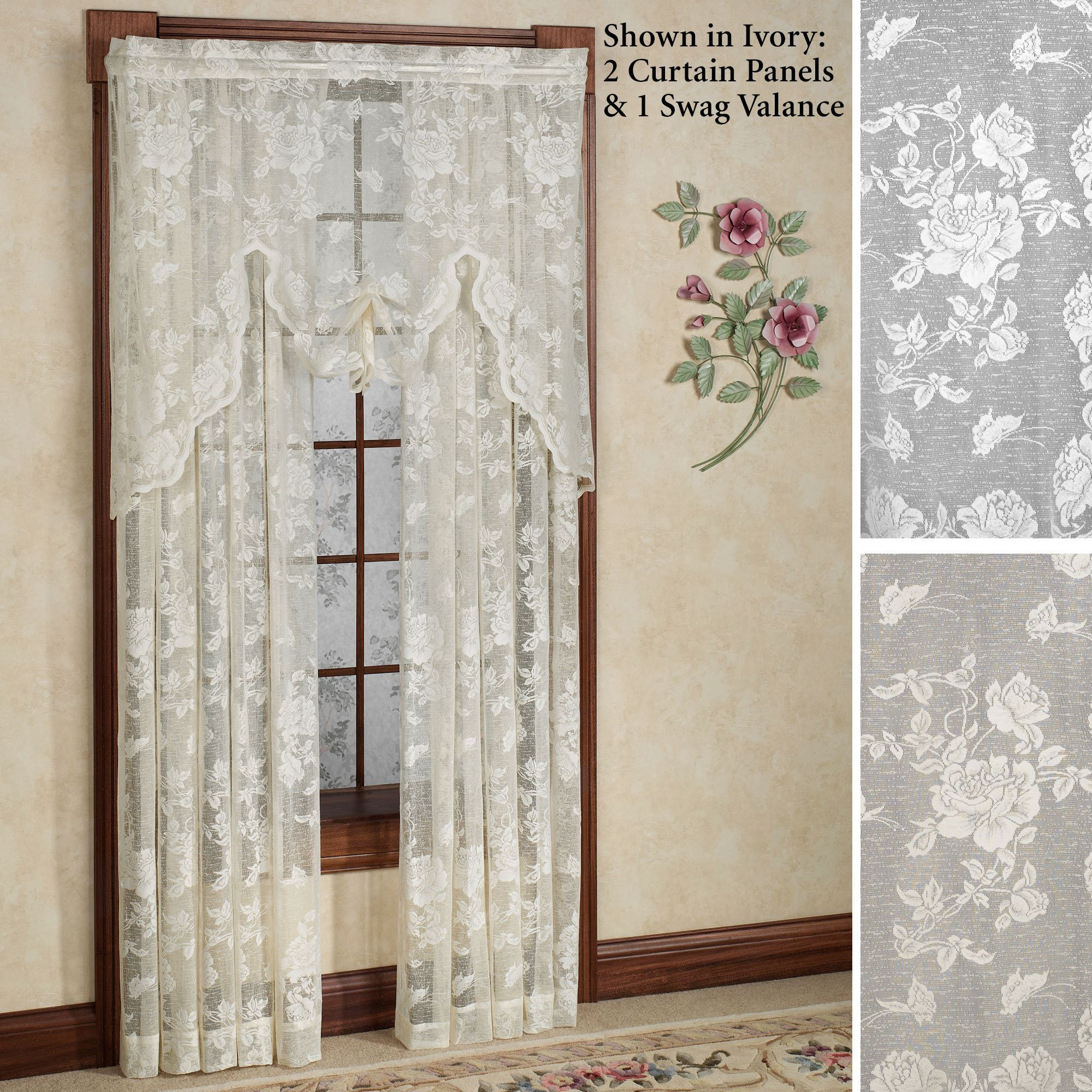 washable kitchen rug particle board cabinets abbey rose floral lace window treatment
