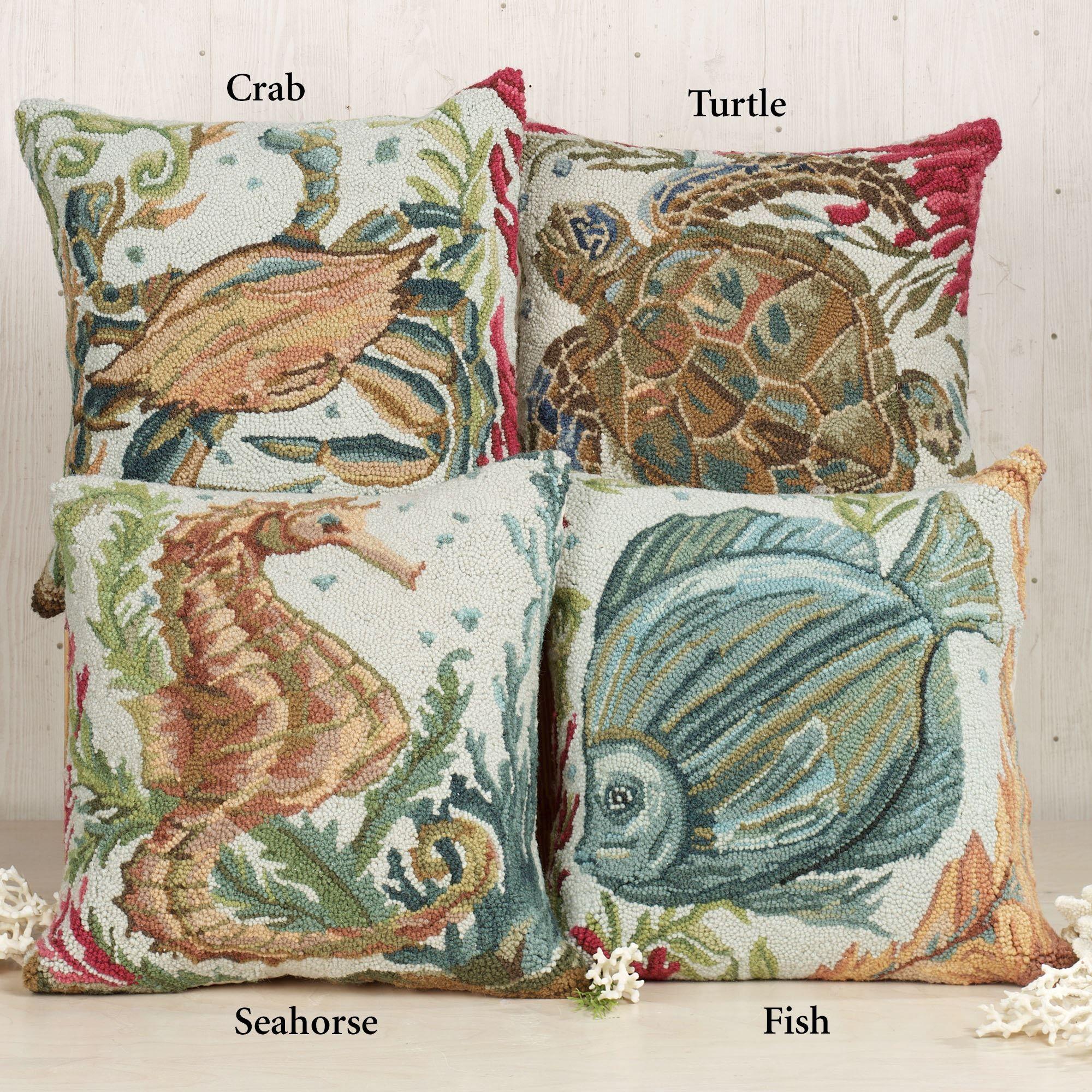 sealife hooked coastal decorative