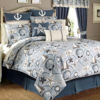 Yachtsman Nautical Comforter Bedding by Croscill