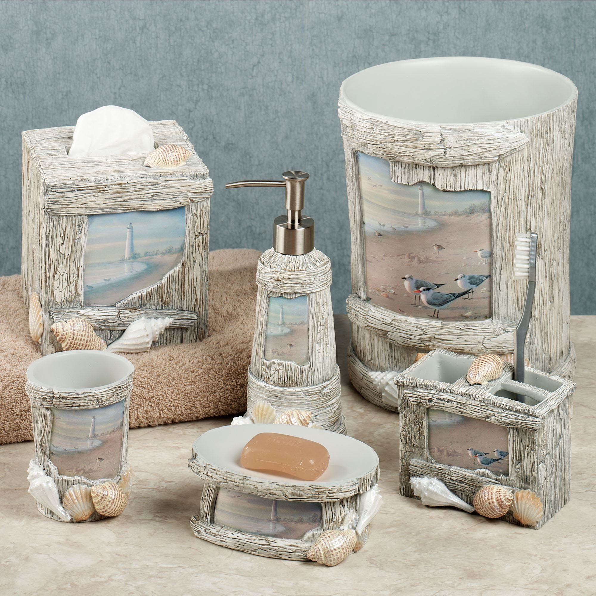 Beach Bathroom Set