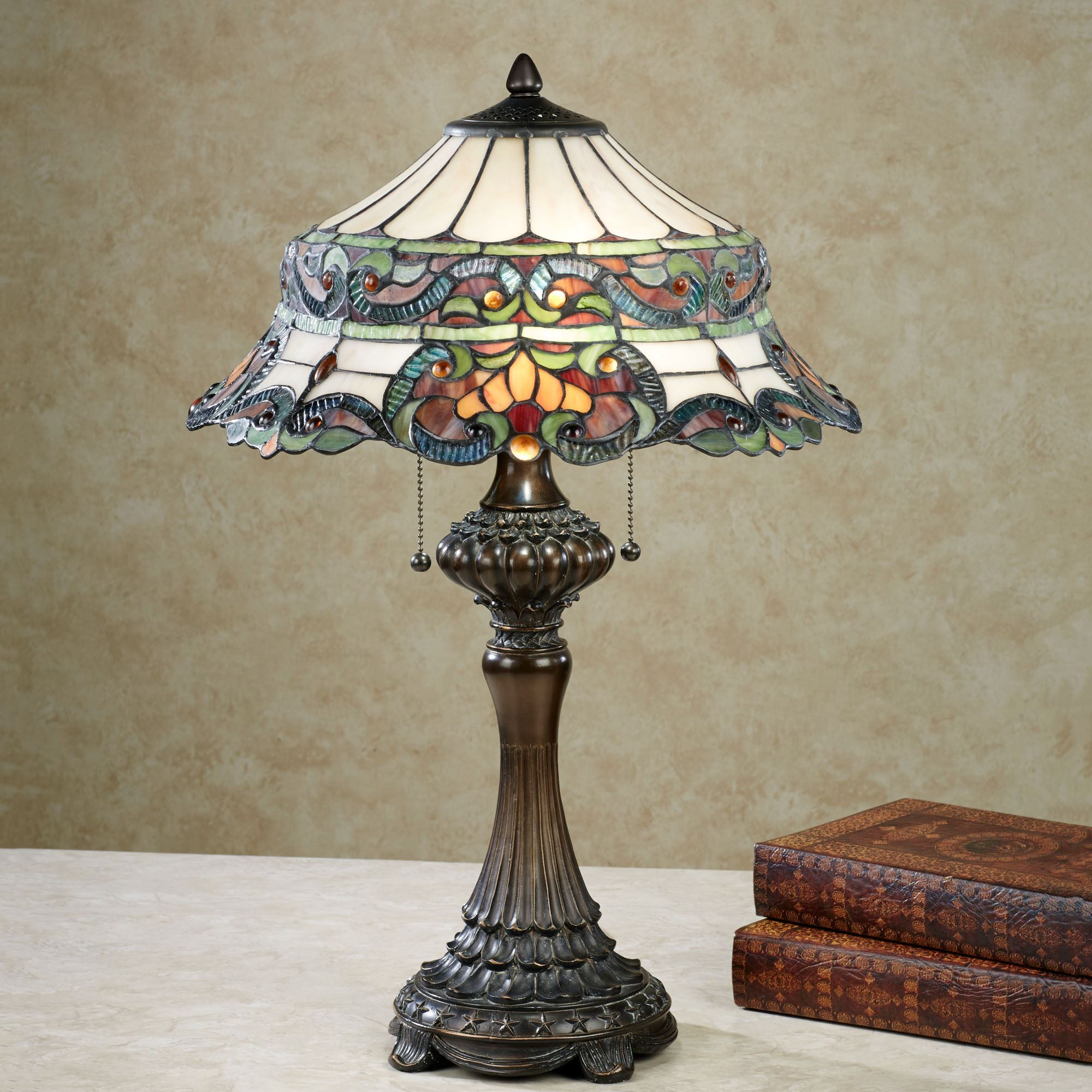 Grace Stained Glass Table Lamp