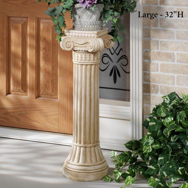 Ionic Indoor Outdoor Pedestal Column